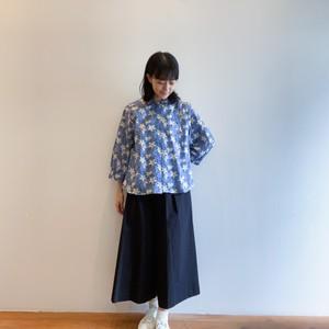 C-52742 【Ava Fleur】Liberty Petit Collar Shirt