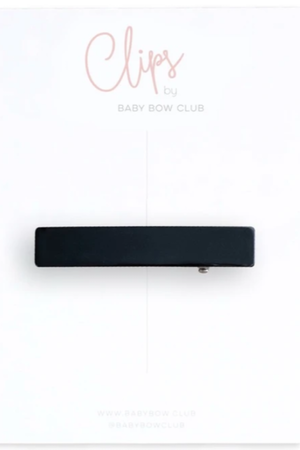 BABY BOW CLUB Bar Clip // Black