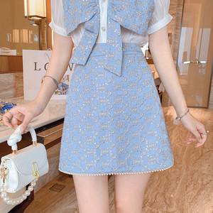 lady デザインハイウエストスカート c3427