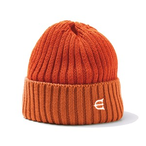 EVISEN COTTON 2TONE KNIT CAP ORANGE エビセン ニットキャップ