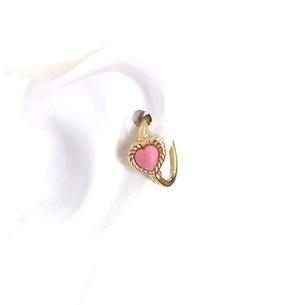 K18 body jewelry #0006 HEART CHARM ハートボディピアス・チャーム/18金イエローゴールド