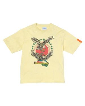 """NEW"" 2 Eagle Tee (Org) / YELLOW"