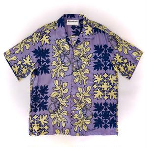 マヌへアリイ / USEDアロハシャツ / sizeL
