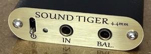 -新モデル-【受注生産】SOUND TIGER Grande-BTL- 4.4mm ミニミニバンドルセット「ESSENCE AUDIO JE-FI01」