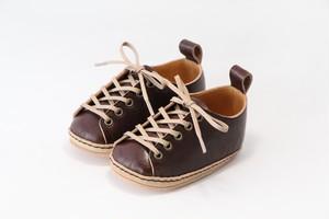 "first shoes ""HELLO"" ( dark brown )"