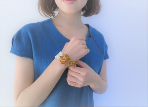 vintage bracelet pearl and bijou <PCL-RBory>