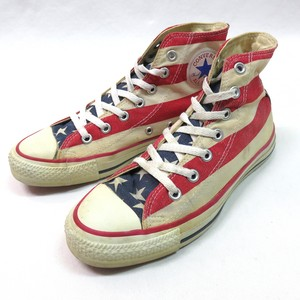 90's CONVERSE コンバース AMERICAN FLAG MADE IN USA US6 アメリカ製
