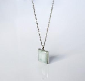 HISUI 'SHIKAKU'  / Necklace (White)