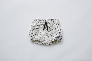 【21SS】eLfinFolk(エルフィンフォルク)QiLin bloomers (80/90) white ブルマ