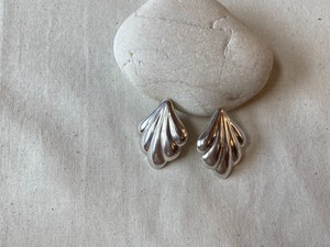 <vintage silver925>mexican puffy pierce