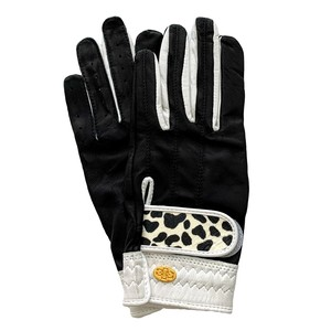 Elegant Golf Glove black-white-dalmatian