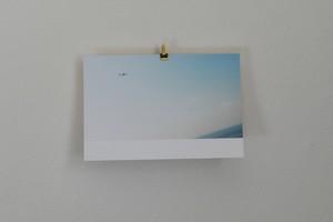 ポストカード 飛行機