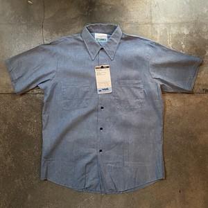 70s Sears Chambray Shirt /Deadstock