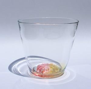 グラス  'flower'ロックグラス