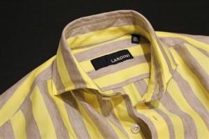 LARDINI Bold Stripe Shirts