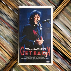 Paul McCartney / GET BACK【中古ビデオテープ】