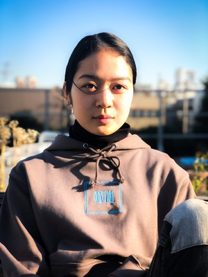 【UNISEX】MNKM Embroidery Hoodie