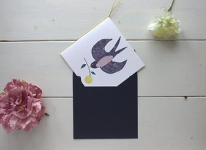 ツバメの招待状(印刷込み)10部セット