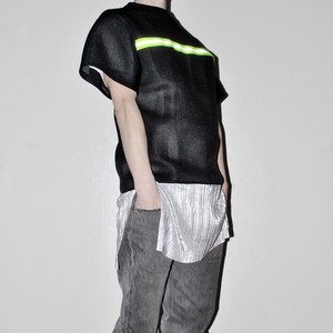 RAKI 1off Reflected mesh over sized Tee
