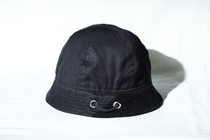FUNCTIONAL FISHING CREW(メトロ)HAT / BLACK