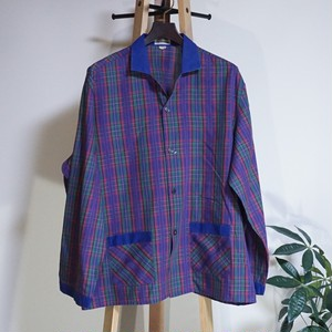 フランス Brummell パジャマシャツ France [C747]