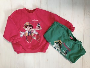2900円+税キッズ Pinocchio スウェット