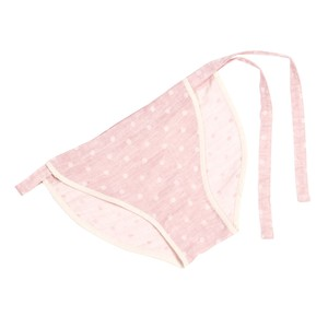 【Ladies'】ORGANIC COTTON ( dotted-pink )