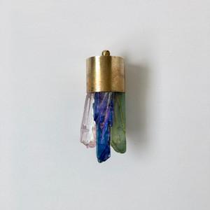 ダイドクォーツのペンダントヘッド|Dyed Quartz Pendant Head
