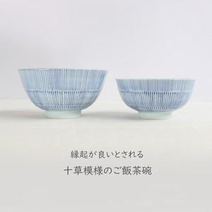【SLSET-0047】ごはん茶碗セット 青十草