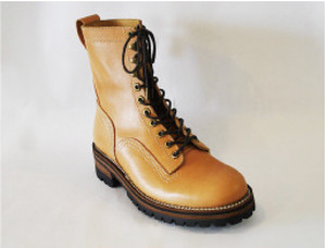 【High Line】LIMITED LOGGER BOOTS NATURAL GR-KE317
