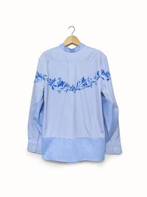 flower paint 2way shirts A