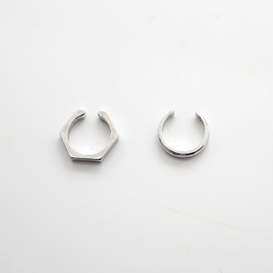 2nd Collection-LIPS×EAR CUFF [ SILVER ]