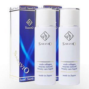 10%OFF。2本セット♪ サラヴィオ美容液100ML スカルコラーゲンで肌生き生き!敏感肌にお勧め