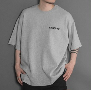 【OMERTA】Over Fit Tee / GRAY