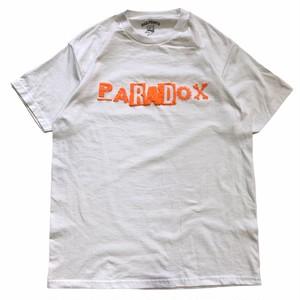 LOGO T-shirts (White) 発泡インク
