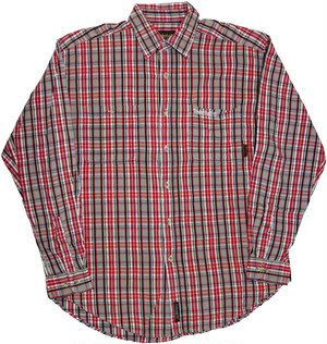 【L】 90s Timberland チェックSHIRT
