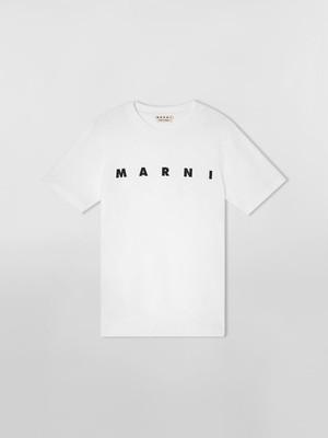 【MARNI】《21SS》オーガニックジャージーTシャツショートスリーブ HUMU0198POS23843