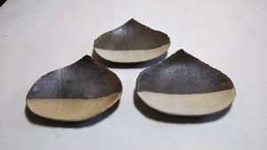 栗くりkuri3枚小皿セット