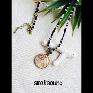 貝殻と星の砂ネックレス