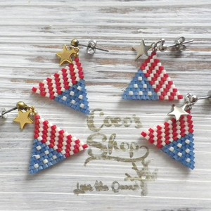 Triangle Pierce -American Flag-