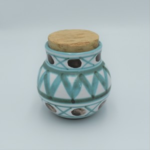 """【Vintage】Robert Picault /  Spice pot with lid  """"GIROFLE"""""""