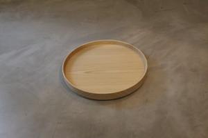円居という名の木の器 φ210皿 栓