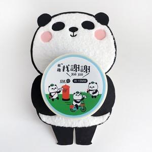 マスキングテープ(謝謝パンダ 郵便)【台湾】