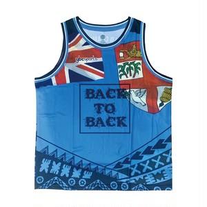【YBC】FIJI Back to Back Basketball Shirt