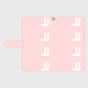 【ピンク】Android手帳型スマホケースㅋㅋㅋㅋ