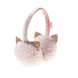 T1227P GLITTTER CAT EARMUFFS