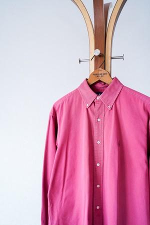 "【1990s】""Blake, Polo by Ralph Lauren"" Button-down Plaid Shirts / v648y"
