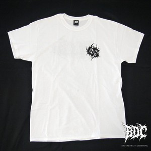 Gluttonous Slaughter Brutal White Tee