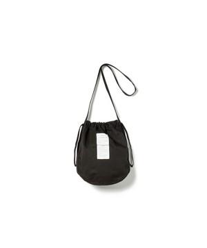 【SANDINISTA】Ventile Drawstring Bag(BLACK)