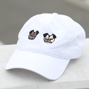PUG LOW CAP(WHITE)